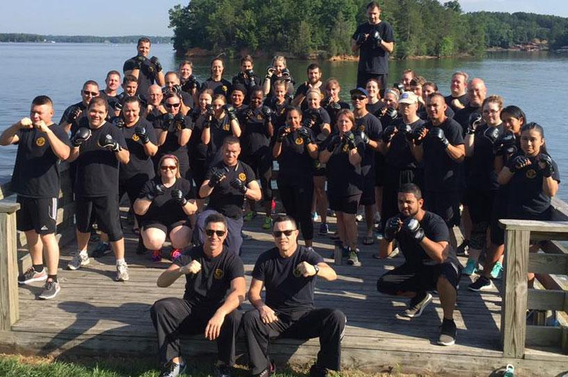 ATA Steele Creek Krav Maga class