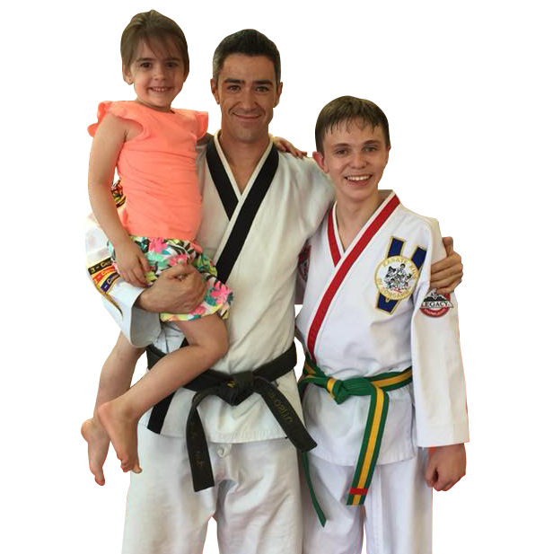 Master Esposito with students